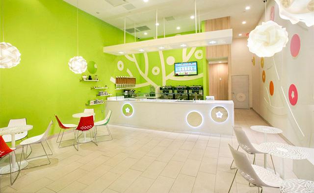 Ice Cream Shop Interior Design Ideas