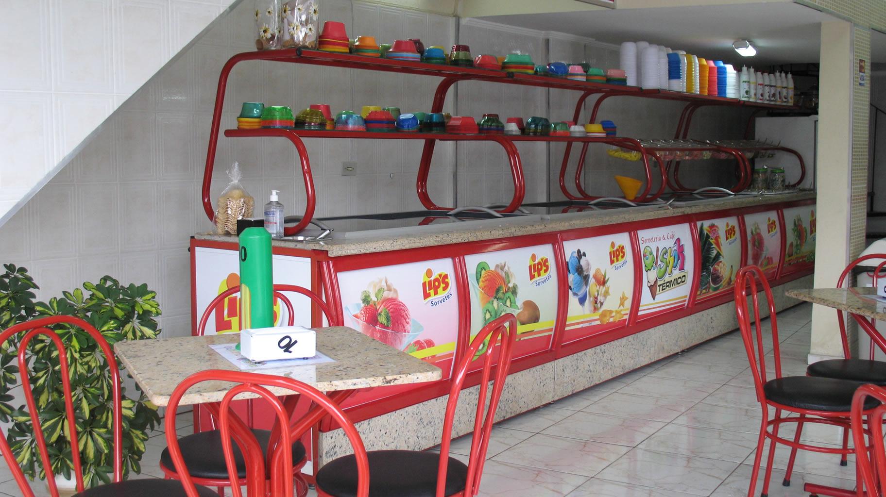 montar uma sorveteria : como fazer móveis para sorveteria