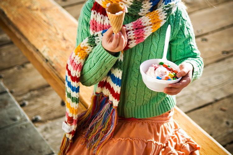 sorvete no inverno: como vender?