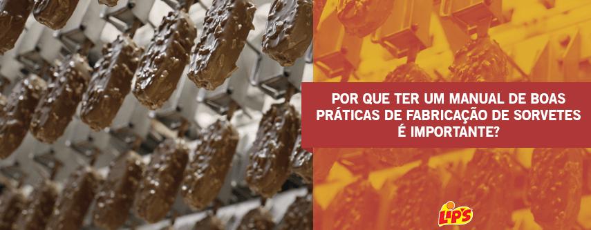 manual de boas práticas de fabricação de sorvetes