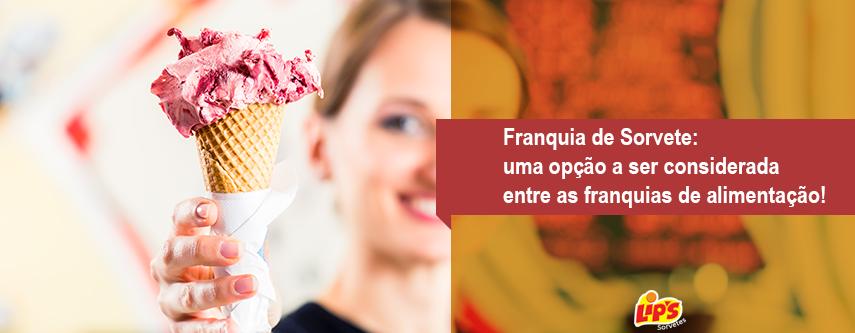 franquia de sorvete